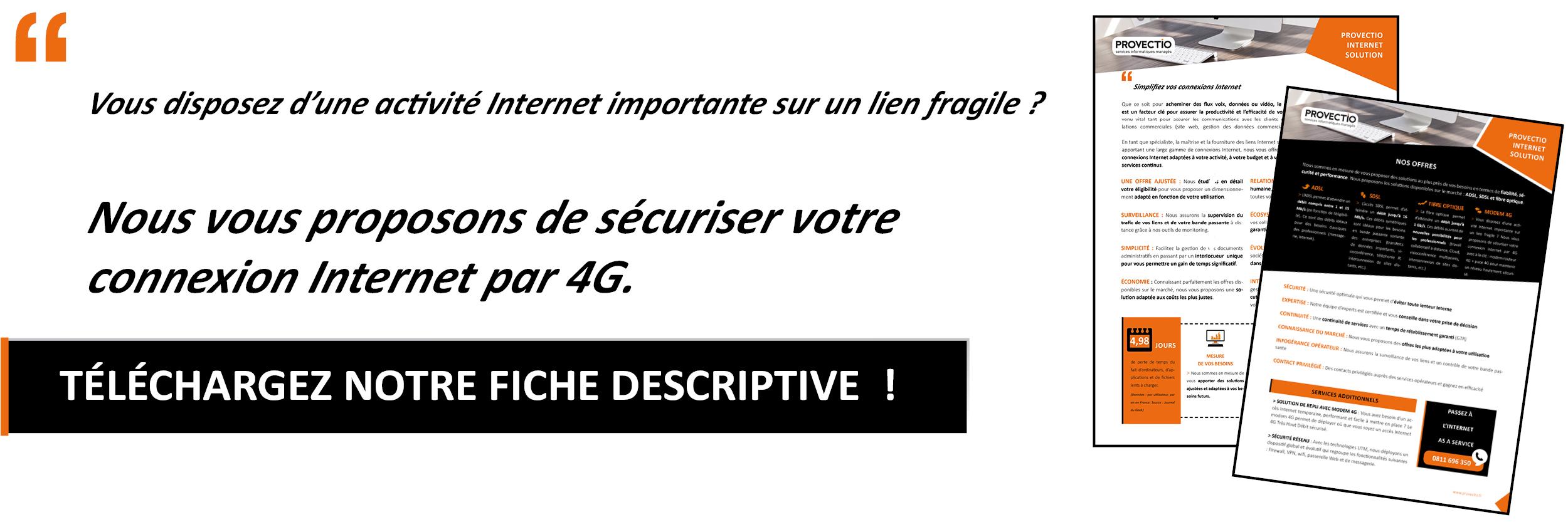 Connexion internet 4G