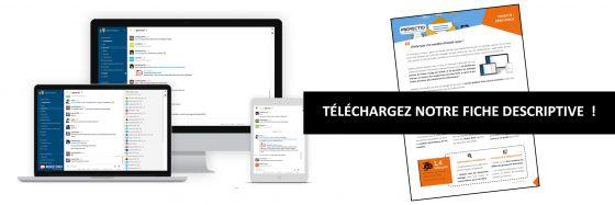 Emails : outil de communication interne Rocket Chat